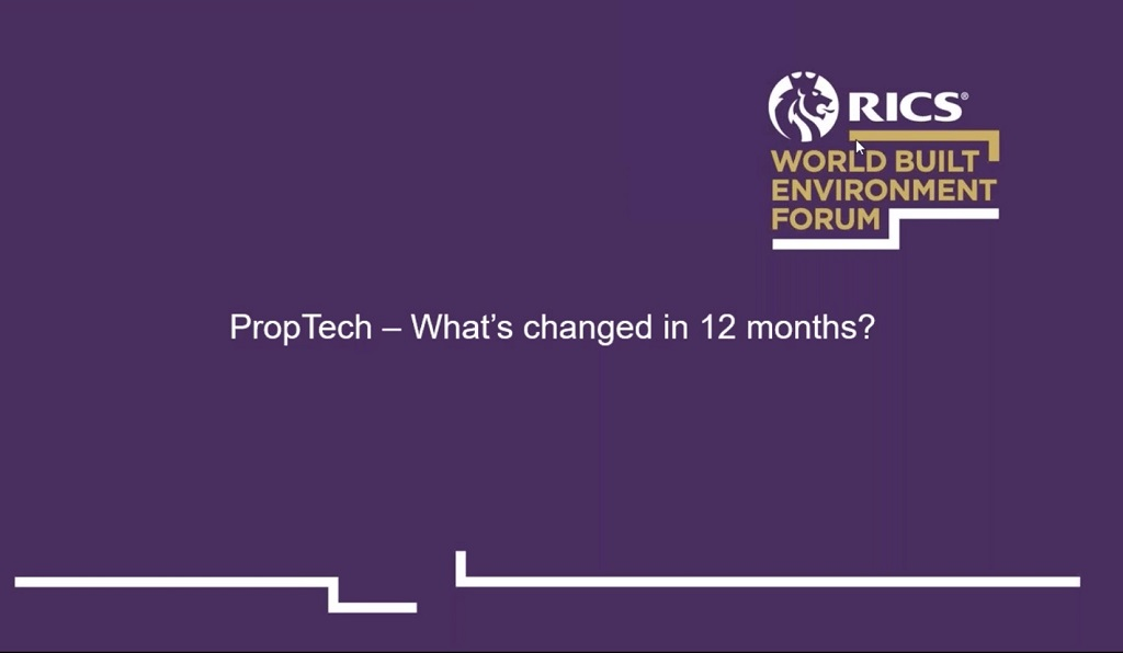 RICS takes the pulse of proptech
